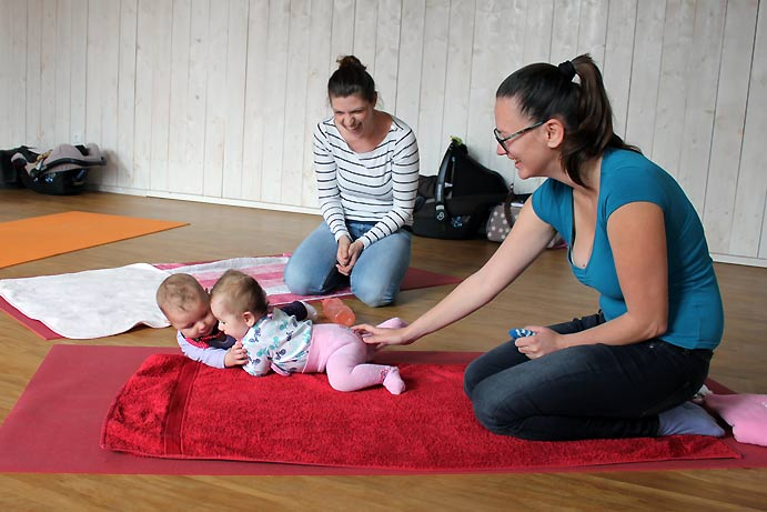 BabyShiatsu Kurs Mamiladen Klagenfurt